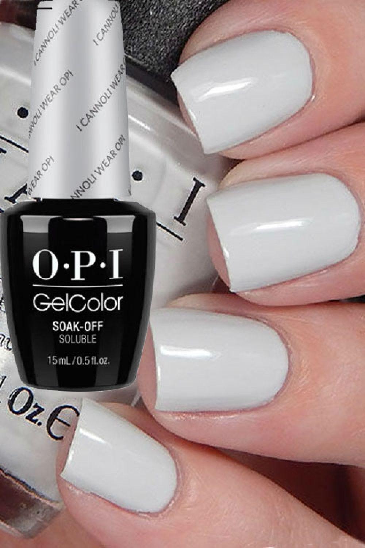 i cannoli wear opi gel | opi | Pinterest | Manicura francesa ...