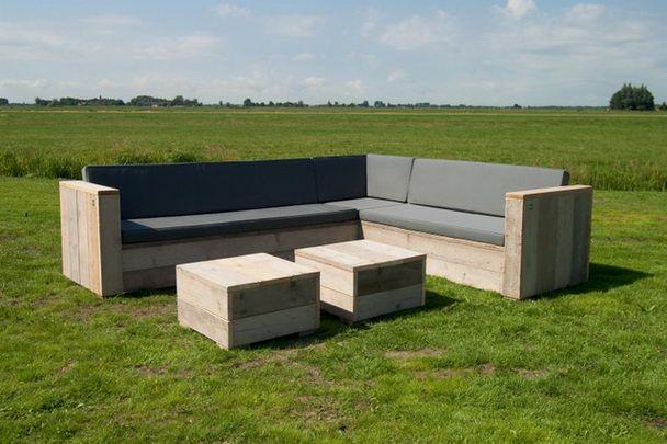 Bauholz Lounge Eckbank Für Den Garten   Bauholz Gartenmöbel   Garten Möbel    Produkte   Moebelhaus