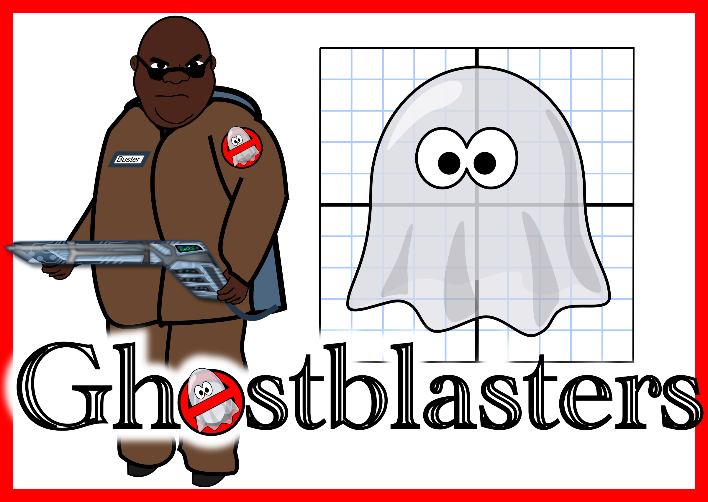 Ghostblasters Ordered Pair Amp Coordinate Plane Project