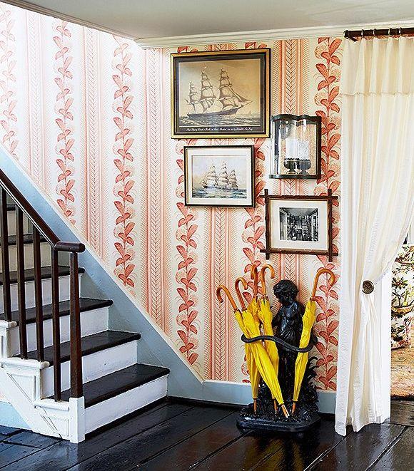 Climbing Hydrangea Wallpaper From Quadrille China Seas