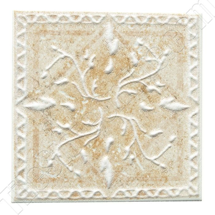 Decorative Floor Tiles Daltile Belleview Bv07 Rustic Gold Ceramic Tile Deco  6 X 6 Dal
