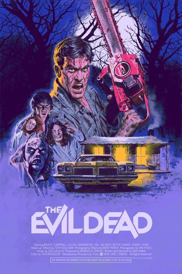 The Evil Dead (1981) [640 x 960] | Peliculas de terror, Cine de terror, Carteles de películas