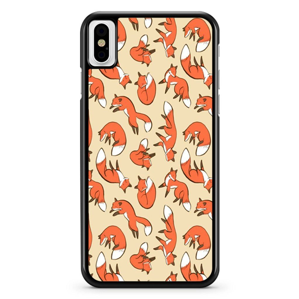 Fox Cartoon Wallpaper iPhone X / XS / XR / XS Max Case