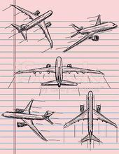 #Airplane #draw #drawings #Step #aircraft #airplane,  #aircraft #Airplane #Draw #drawings #Step