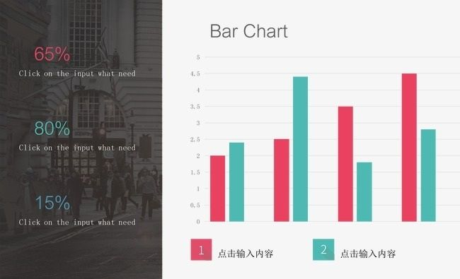 Simple Bar Chart Accounting Table, Creative Geometry ...
