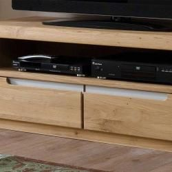 Photo of Tv board made of wild oak Bianco oiled and waxed Nature Dream