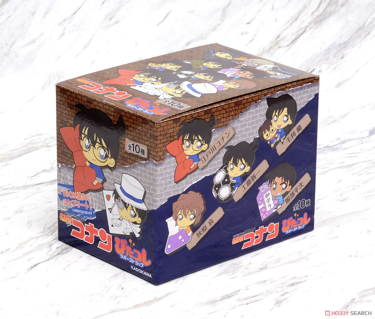 HS Detective Conan Pitacole Rubber Strap (Set of 10) (Anime Toy ...