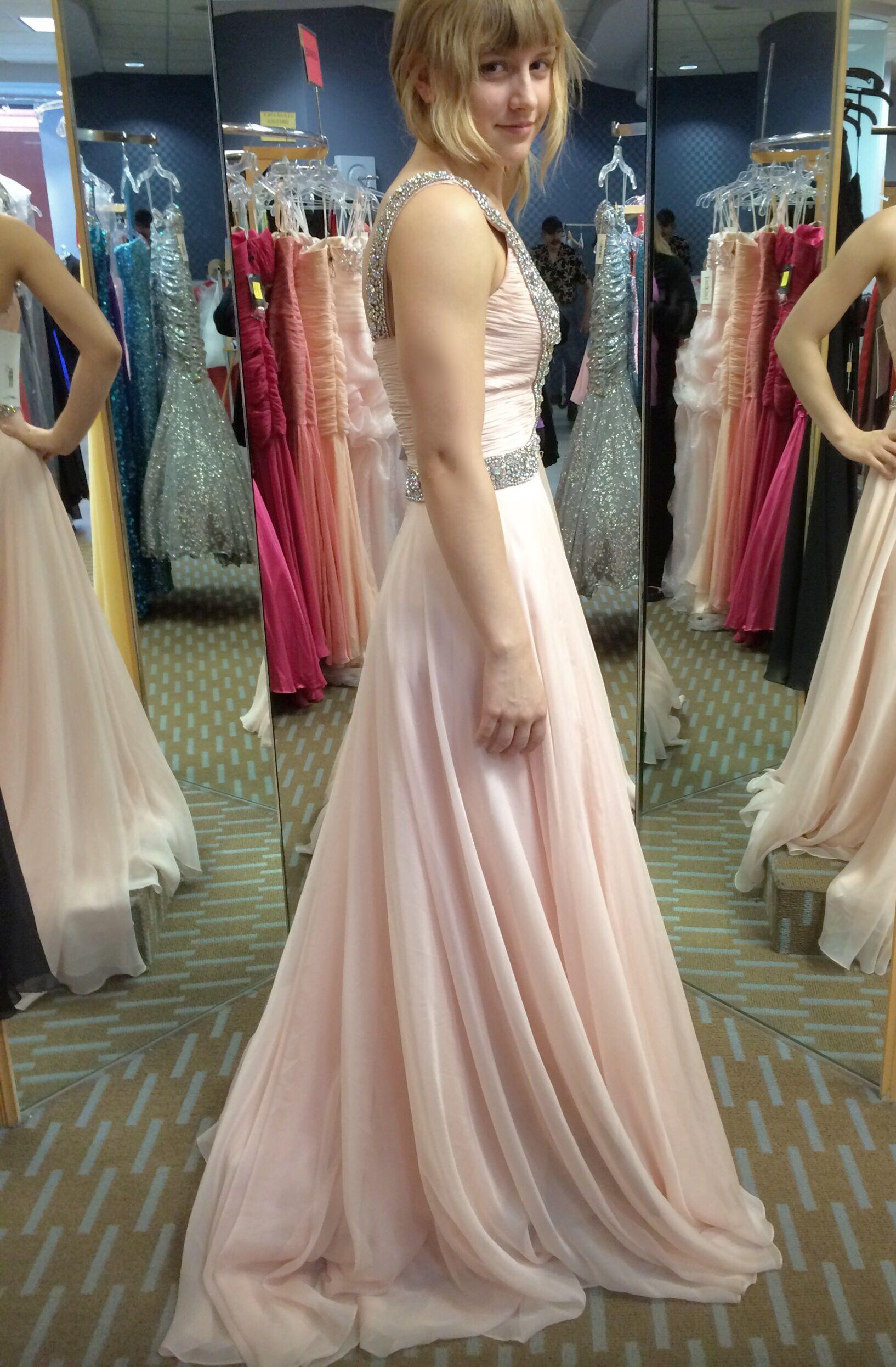 Light pink prom dress my nikkah look pinterest prom