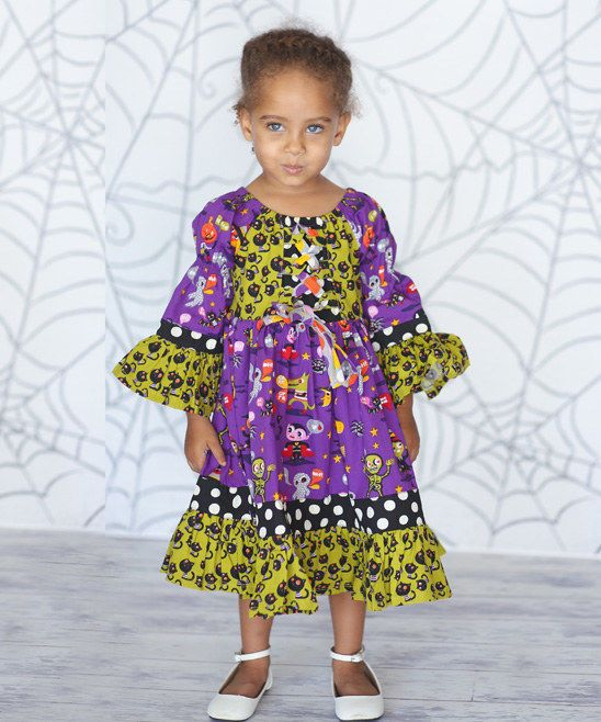 701fb154287 Jelly The Pug Halloween Monster Bash Marquee Dress Size  2T MSRP  69   JellythePug  DressyEverydayHoliday