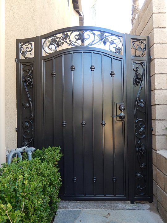 Iron Gates Open The Gates In 2019 Wrought Iron Doors