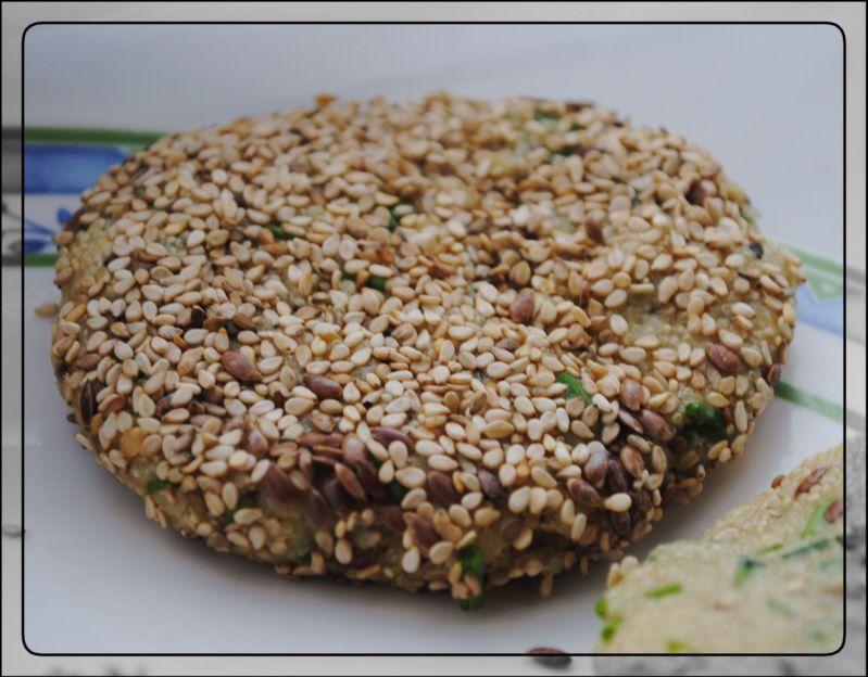 Mama Mia hat eine ganz neue Verwendung für Amaranth gefunden: Amaranth-Puffer, zusammen mit einem knackigen Salat bestimmt eine leckere Sache