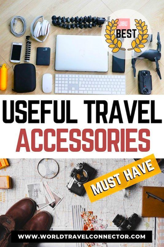 Best Travel Accessories to Travel Smart, Comfortable and Easy #accessories #travel #items #gadgets #gear