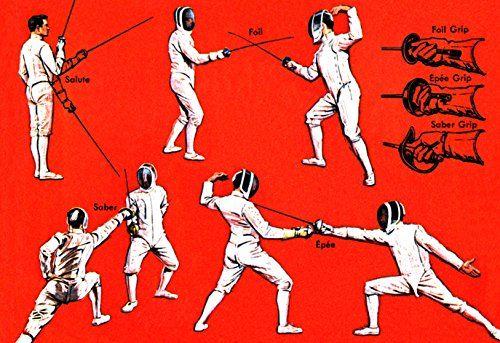 Fencing Poster, Salute, Saber Grip, Foil Grip, Epee Grip ... https://www.amazon.com/dp/B009EUHHT4/ref=cm_sw_r_pi_dp_x_rcRAybT4DWNC0