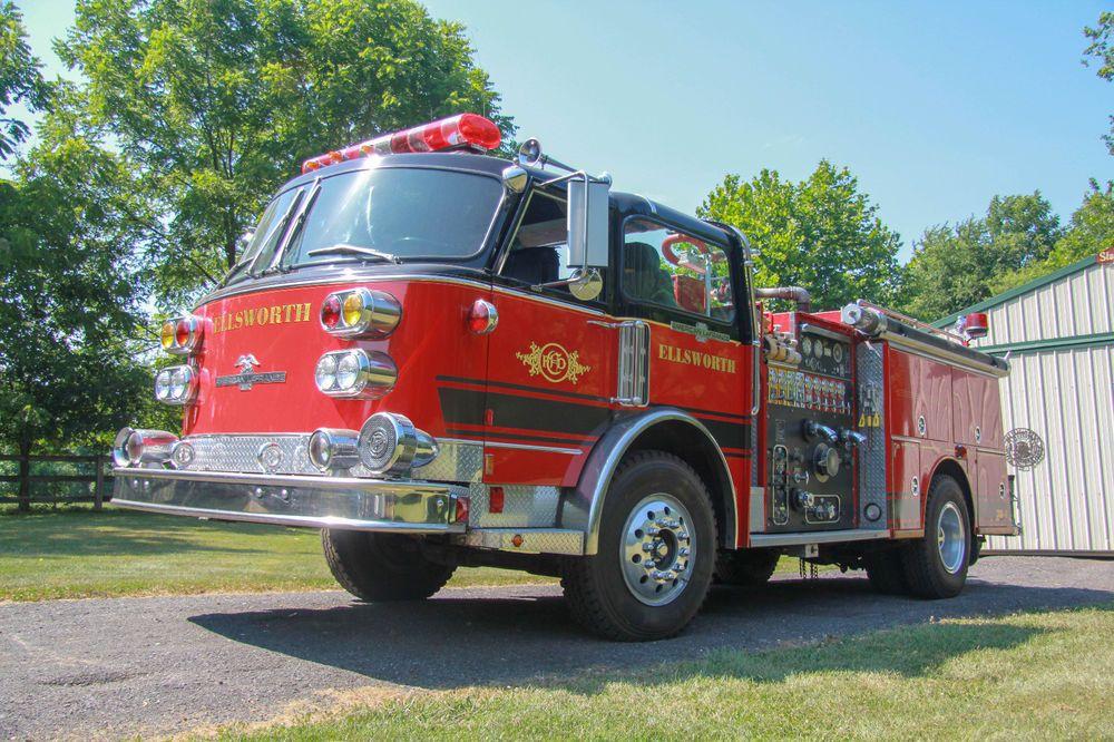 1981 American LaFrance Century Series Pumper Fire Truck
