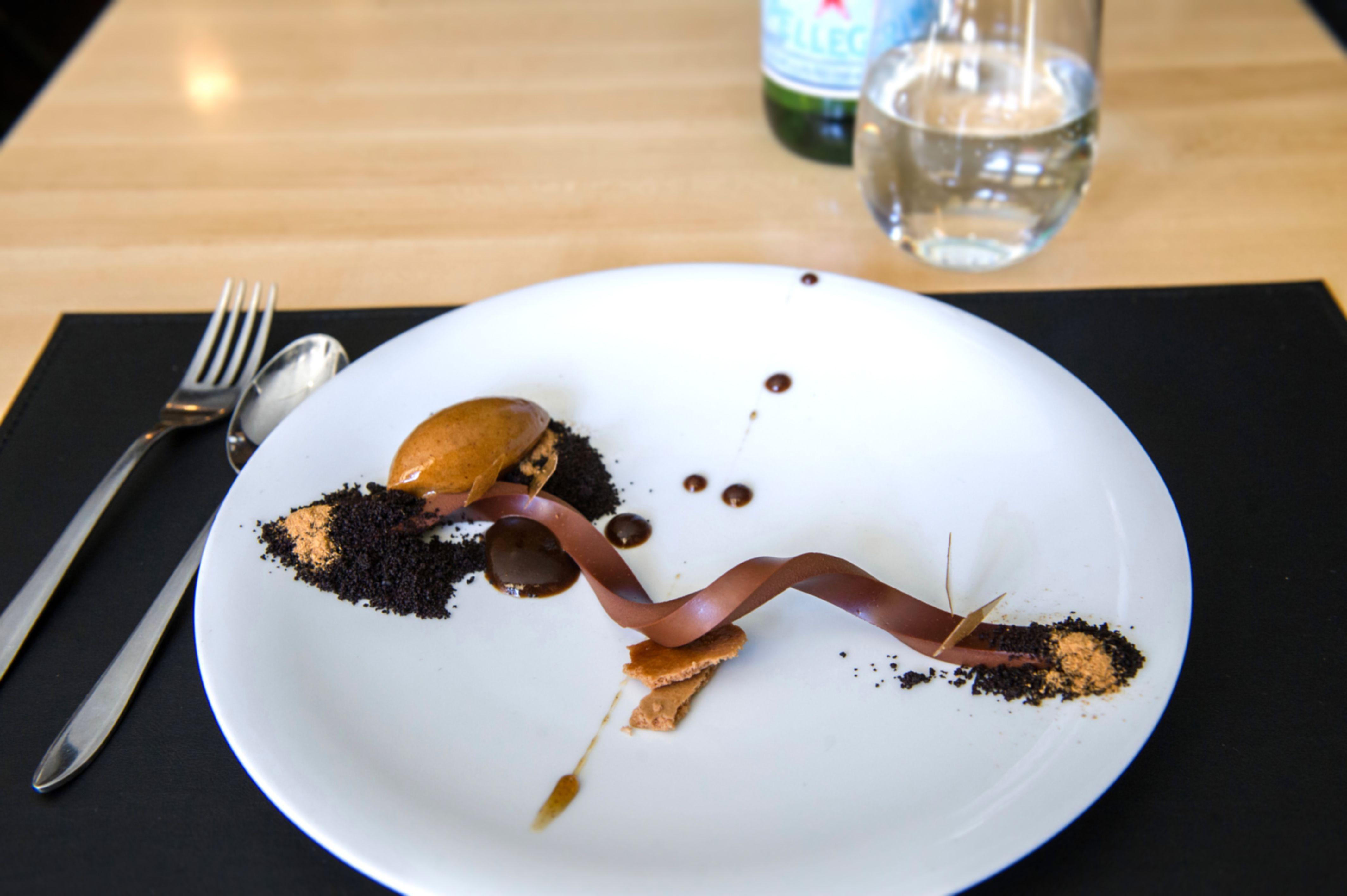 Chocolate Ganache with Vanilla, Tamarind and Prune  | Food & Wine