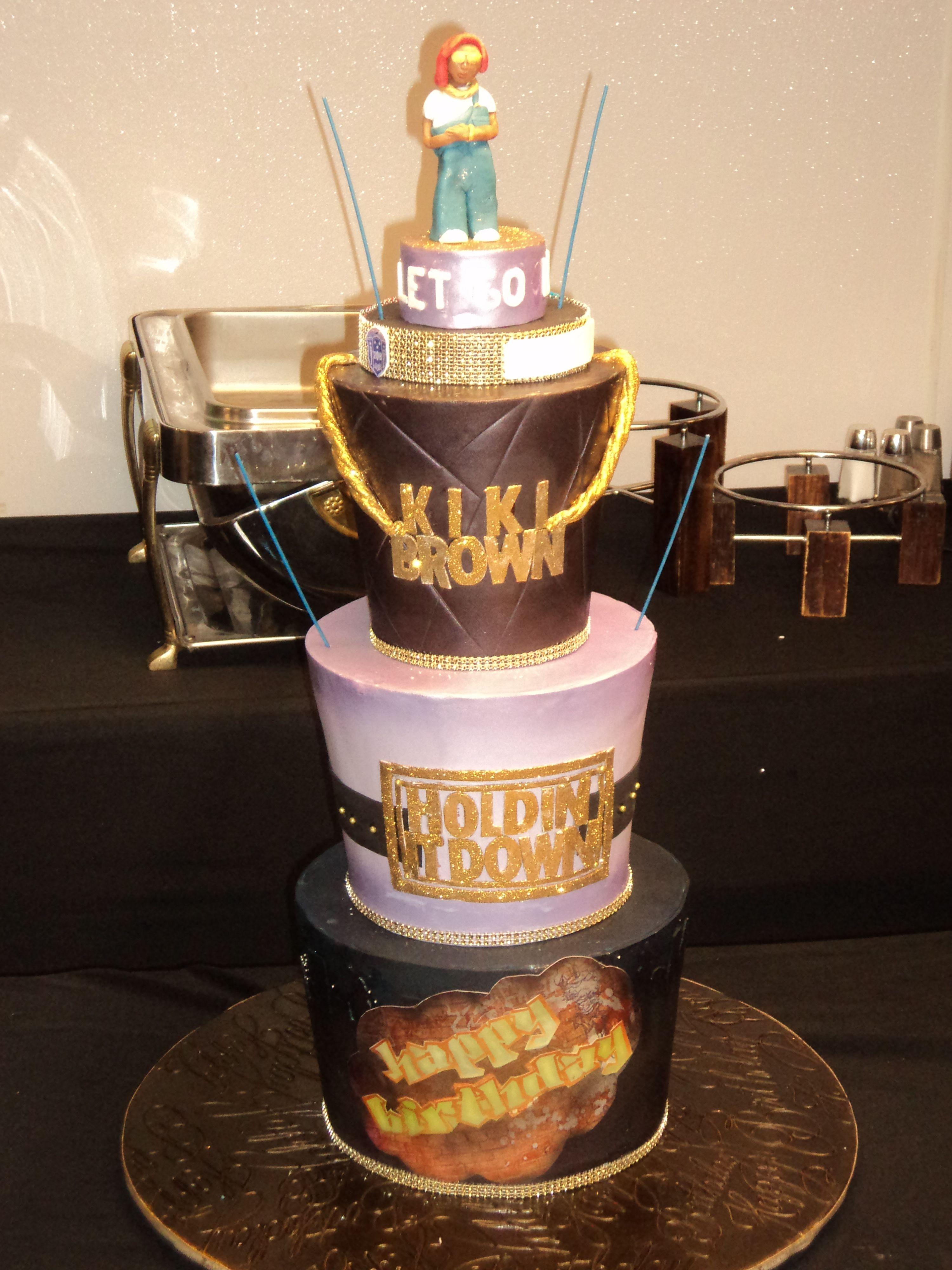 Birthday Cake for Baltimore, MD DJ Personality Kiki Brown of 92Q ...