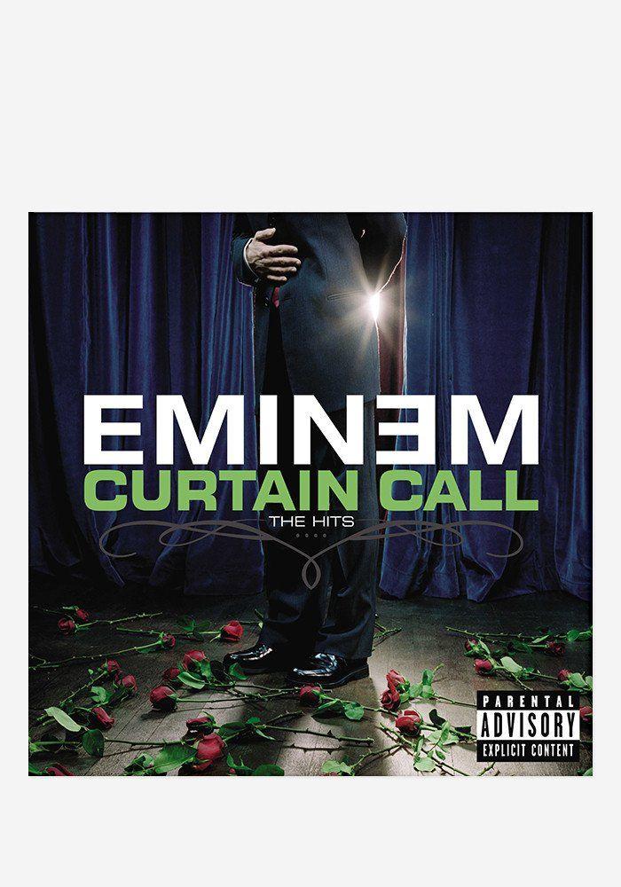 Curtain Call The Hits 2 Lp Eminem Songs Eminem Album Covers Eminem Albums