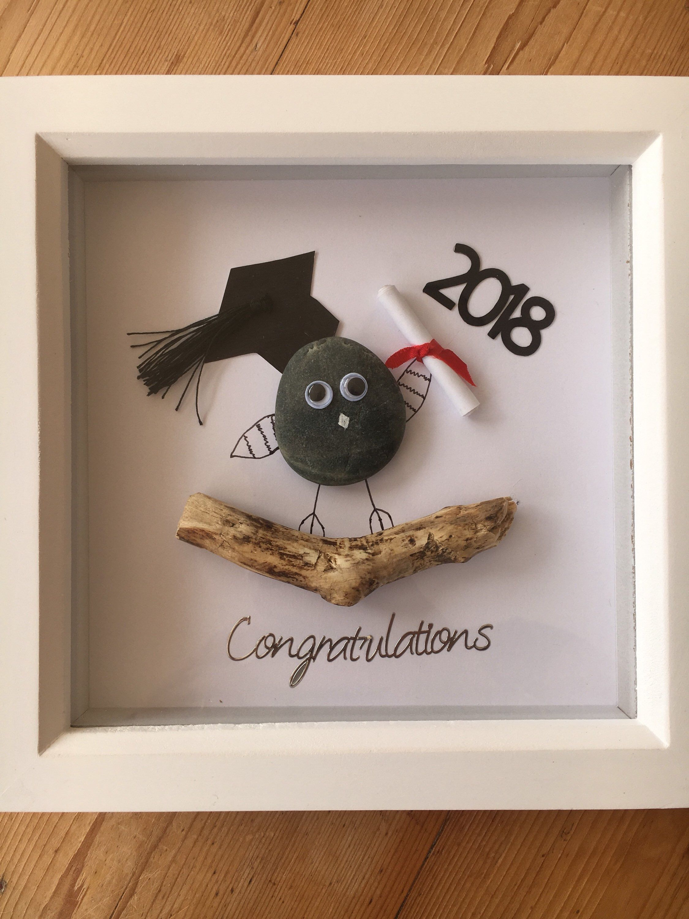 Graduation Pressie Etsy Art Mixedmedia Graduation