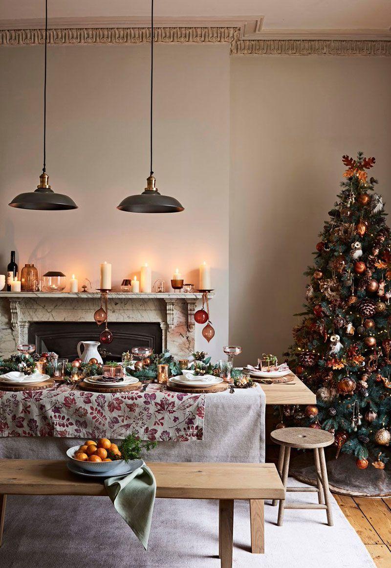 Pin By Hobbycraft On Christmas Christmas Table Decorations Table Decorations Christmas Table