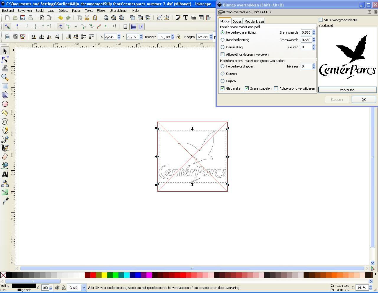 Svg omzetten naar dxf file met inkscape Silhouet, Populaire boeken, Creatief