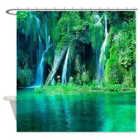 Elegant Rainforest Shower Curtain On Cafepress Com Rainforest Shower Rainforest Scenic