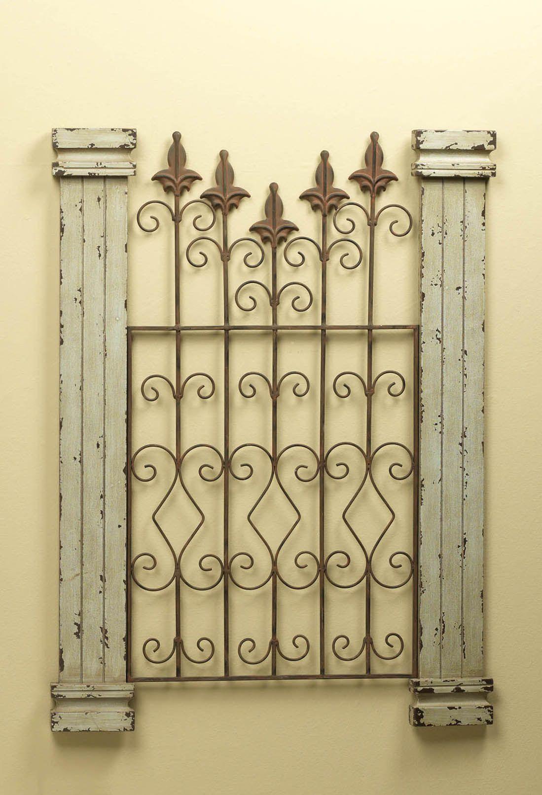 Vintage Gate Artwork | Bare Wall Remedies | Vintage | Pinterest ...
