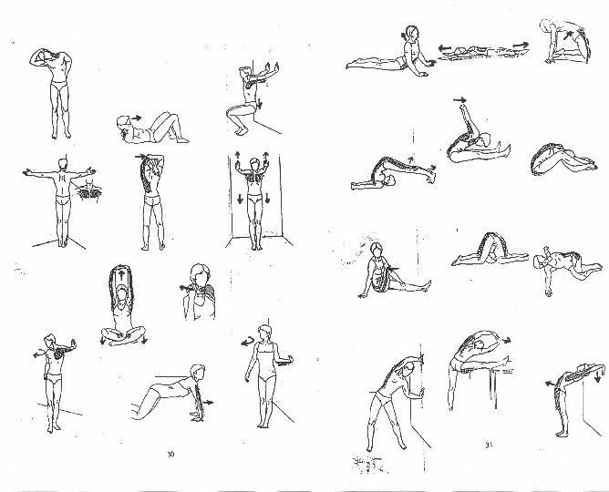 Esercizi Stretching Nuoto Fitness Tips Amp Exercises