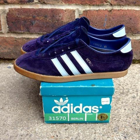 size 40 def0c 6705c Adidas Berlin OG made in Austria. Rare kicks take on an almost Birmingham  bluepurple tone - stunners