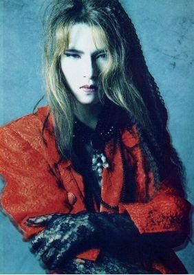 Yoshiki .. Leader of X Japan with long hair