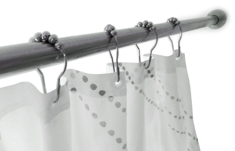 Amazon Com Wrenwane Shower Curtain Hooks 100 Stainless Steel