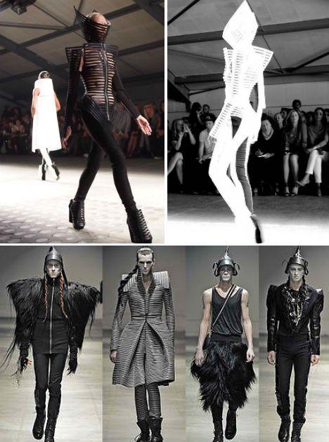 Futuristic Fashion Model Royalty Free Stock Photos: Futuristic Fashion: 35 Out-of-this-World Designer Looks