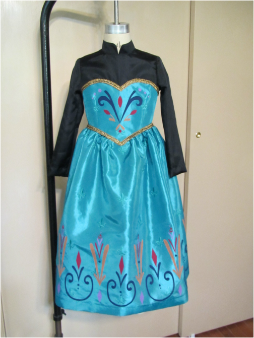 20 awesome diy elsa costume tutorials for little girls i don 39 t want to grow up anziehsachen. Black Bedroom Furniture Sets. Home Design Ideas