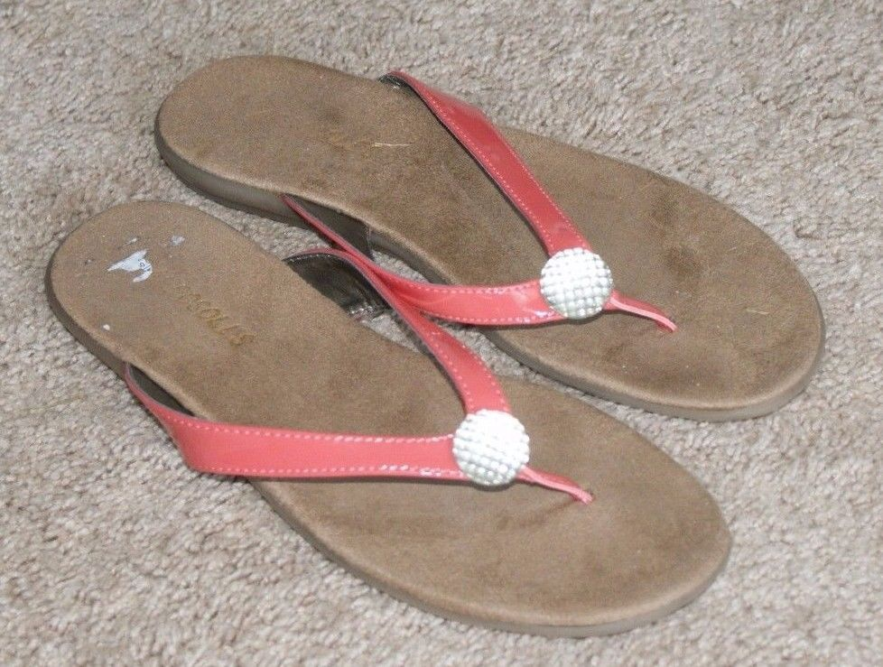 c9432dabdd10 Aerosoles pink sandals flip flops shoes womens size 7  Aerosoles  FlipFlops   Casual