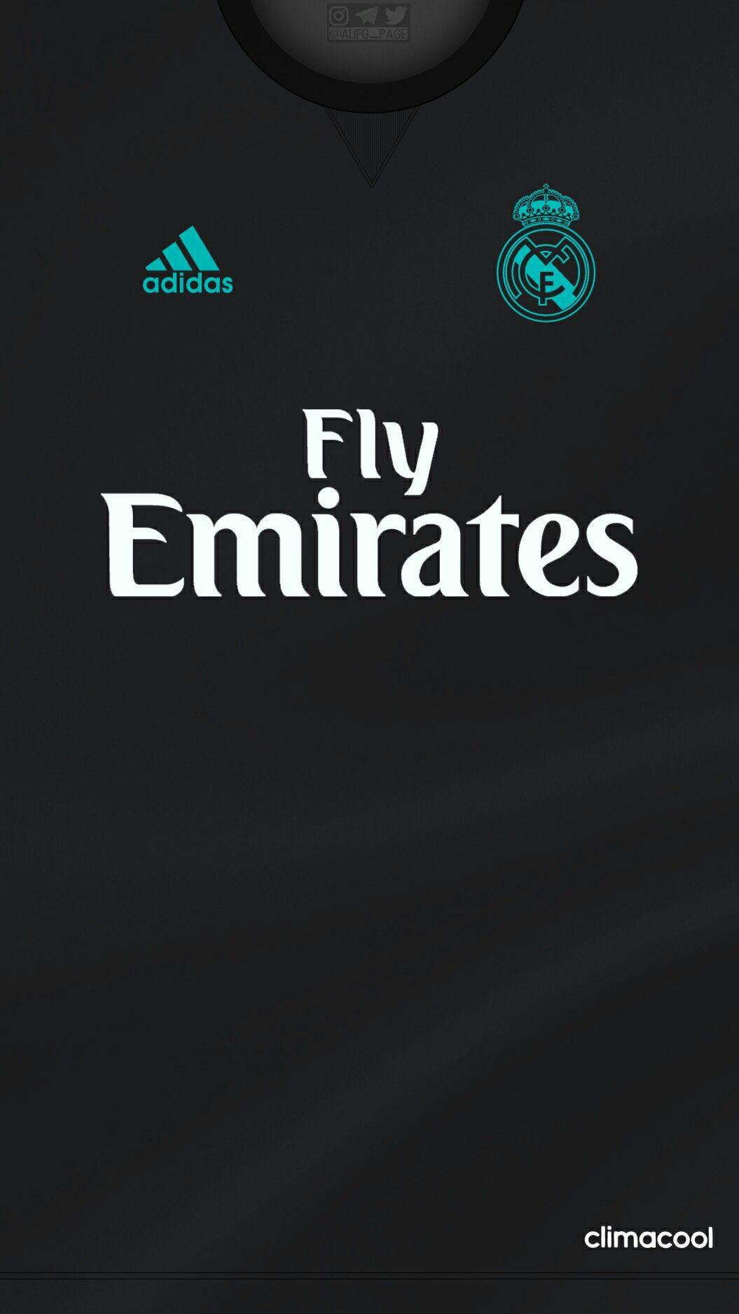 Camiseta Uniforme de Visitante Real Madrid