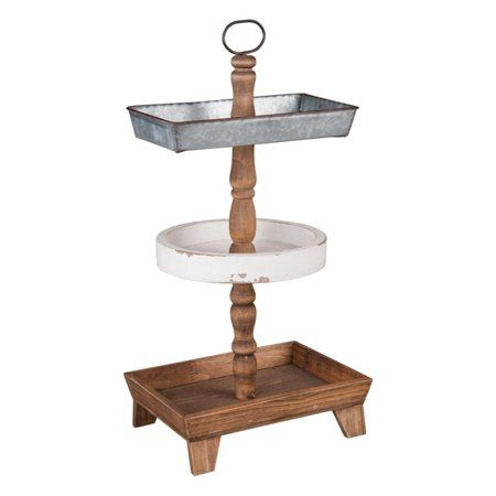 Home Tiered Stand Tray Decor Dining Room Storage