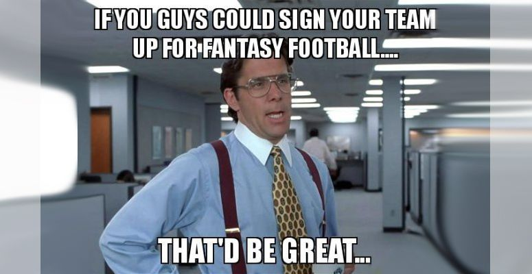 Fantasy Football Trash Talk Memes Fantasy Football Humor