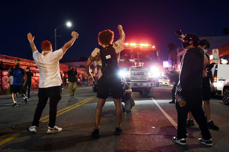 We Re Sick Of It Anger Over Police Killings Shatters Us In 2020 Black Lives Matter Black Lives George