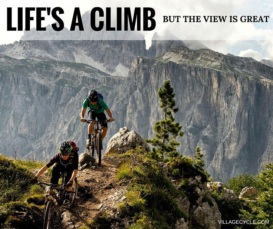 Don't be afraid to push the limits. #MotivationMonday #NeverGiveUp #YouGotThis #VillageCycle #MountainBiking #TrekBikes