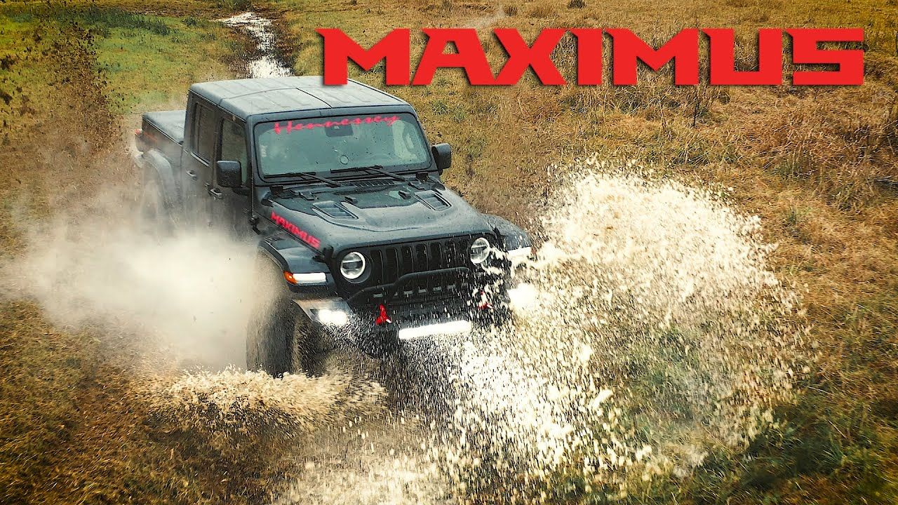 Mudding In A Hellcat Swapped Jeep Gladiator Maximus 1000 By