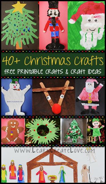 40 Christmas Crafts Printable Crafts Fun Craft Ideas From