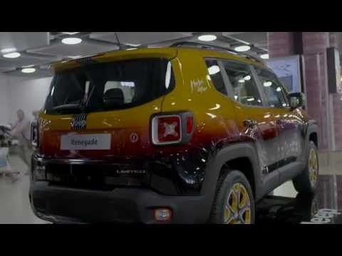 jeep renegade montreux jazz festival showcar by garage italia customs re...