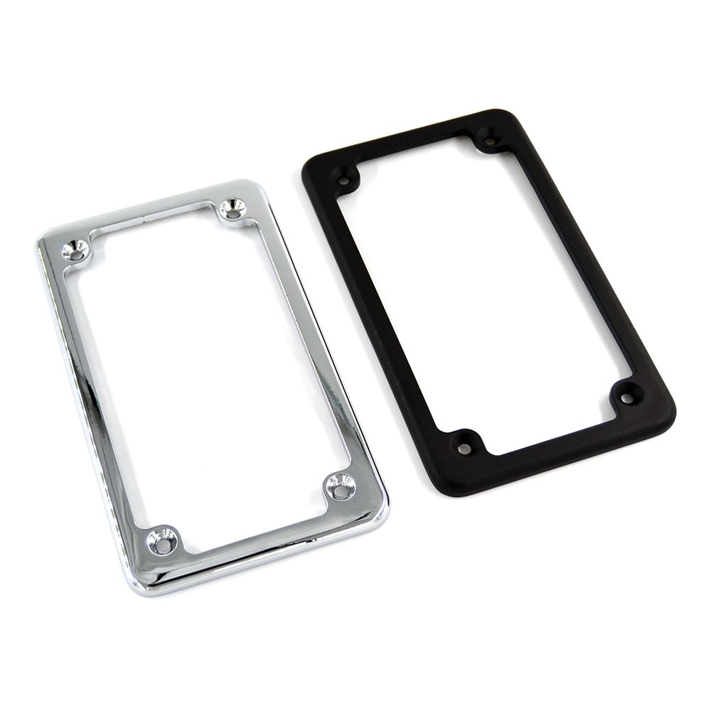 4\'\'x 7\'\' Aluminum Motorcycle License Plate Frames For Honda/Suzuki ...