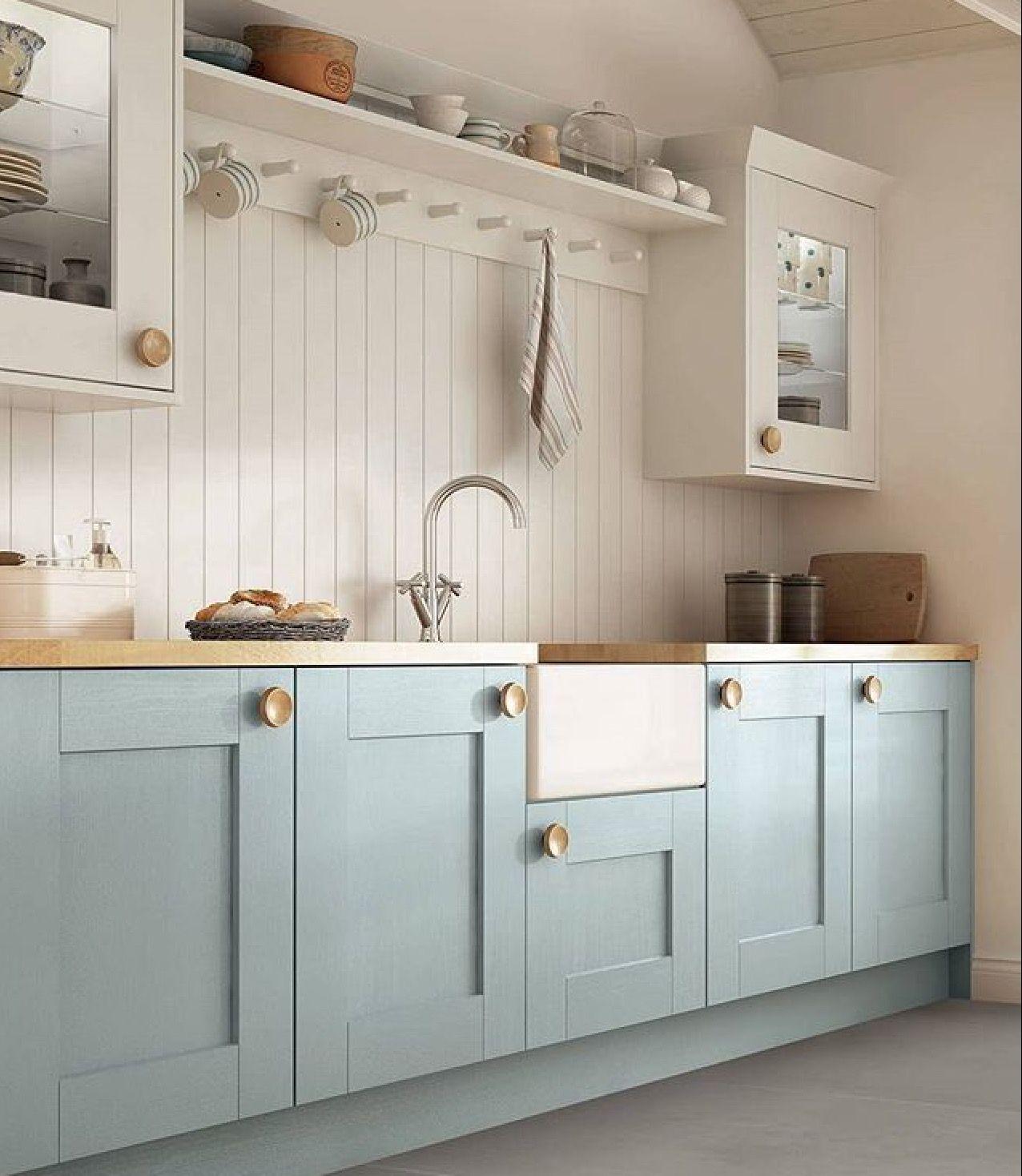 Baby Blue #kitchen #kitchencabinets | Kitchen cabinet ...