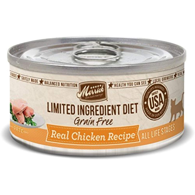 Merrick Limited Ingredient Diet Real Chicken Recipe Cat 24