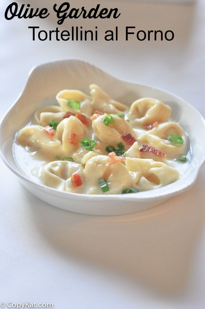 Olive Garden Tortellini Al Forno Recipe Olive Gardens