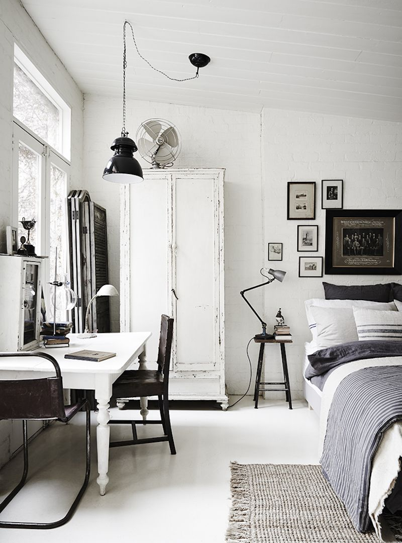The White Room – vintage and rustic interiors | Industrial, White ...