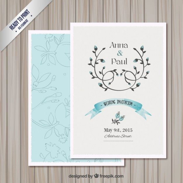 invitation card templates free for word