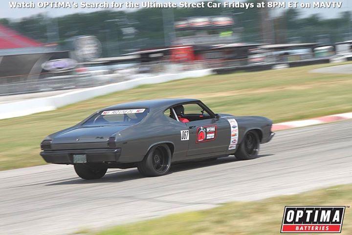 69 chevelle grey split 5 star forgeline wheels protouring spoiler 2