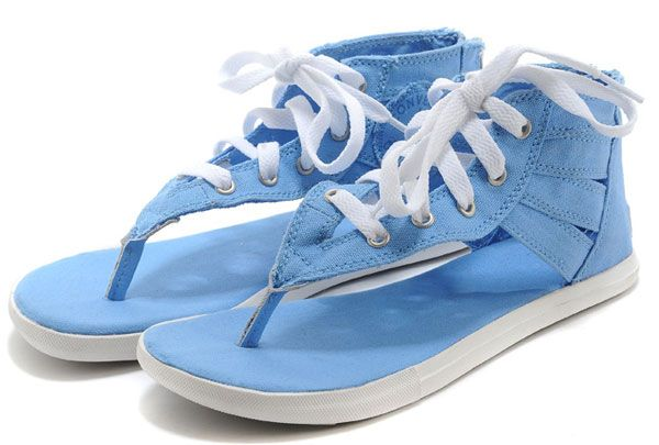bd473d1379ff  converse Summer Converse Chuck Taylor All Star Gladiator Shoes Thong  Sandals High Sky Blue Womens Canvas Slippers with Zipper