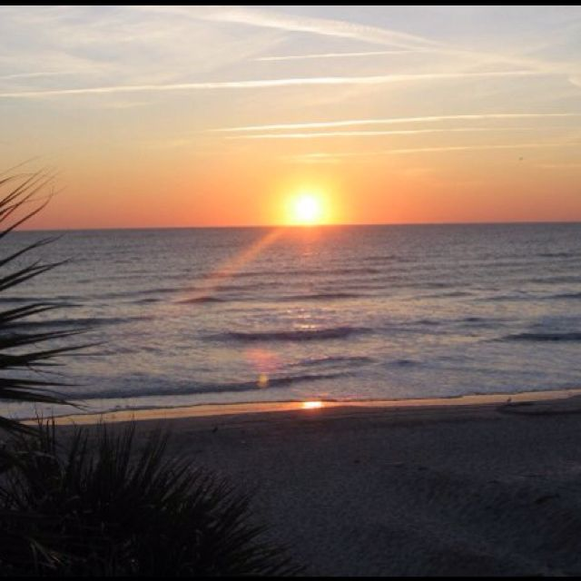 Took this beautiful sunrise picture at the beach in 06...WOW Gods beauty is so good!